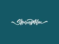 Sharon Milne Lettering Logo