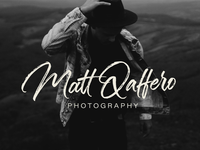 Matt Qaffero Brush Calligraphy Logo