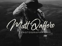Matt Qaffero Brush Calligraphy Logo