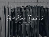 Amelia Calligraphy Logo