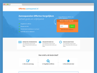 Solar Landing Page - Finished