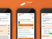 Mobile Website RDW Prototype