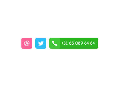 Social button freebie social button freebie soon dribbble twitter phone