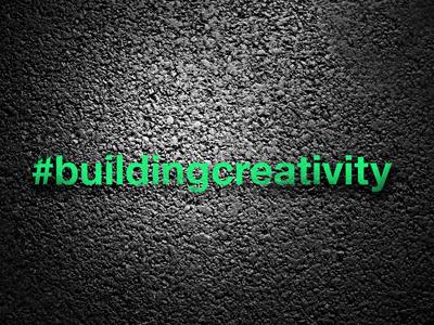 #buildingcreativity [Logotype] buildingcreativity building creativity logo logotype texture shadow mark design concept graphic