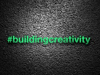 #buildingcreativity [Logotype]