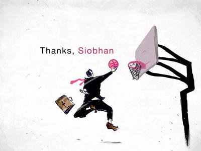 #1 Shot illustration dribbble thanks first shot jump texture