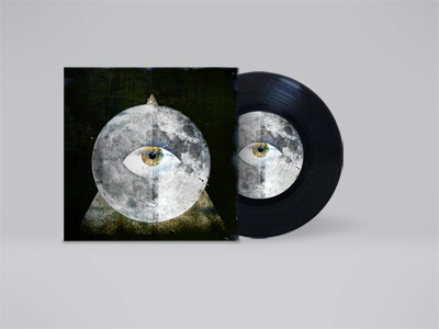 LP Cover - The Last Guardian cd cover music eye lp guardian graphic