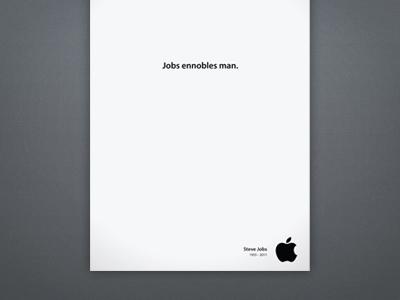 [AD] Jobs Ennobles Man