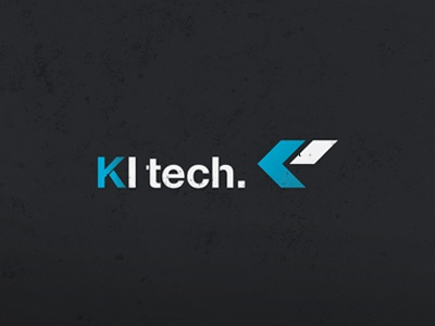 [Logo Design] KI tech logo logo design visual graphic design