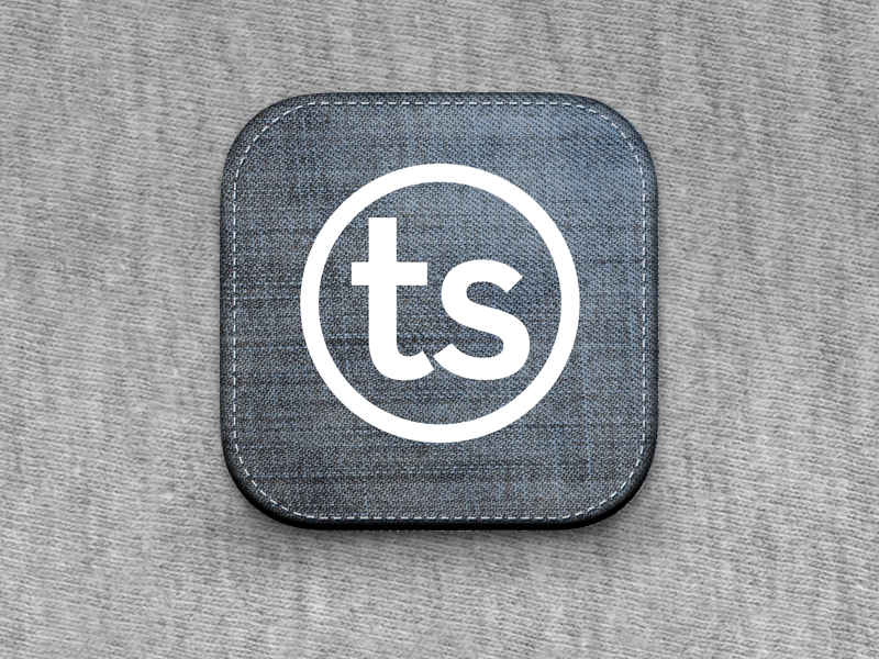 Taylor Stitch for Pickie app ipad icon design taylor stitch fashion san francisco app store app icon