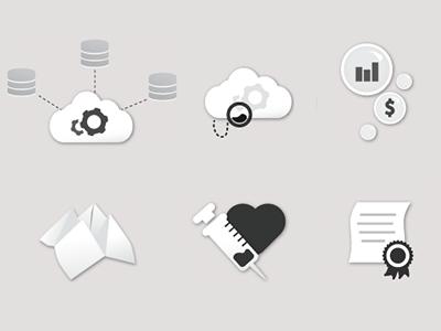 Icons for Agorafy