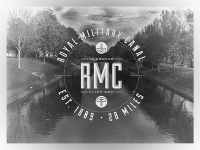 Royal Military Canal royal military canal logo olly sorsby