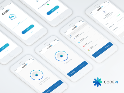 CODEPI Application password manager password minimal app ios star designer product design agency web design uiux ui app application design