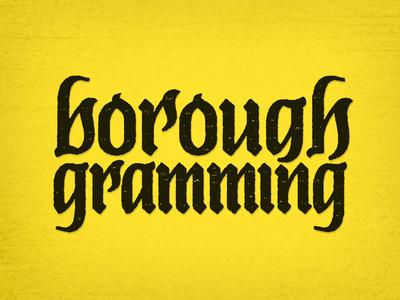 Boroughgramming Logo