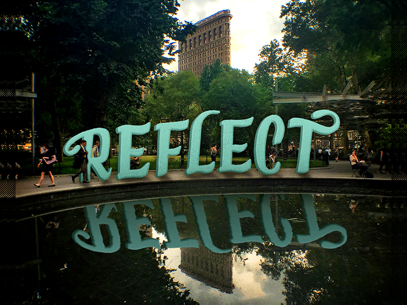 Reflect dribbble