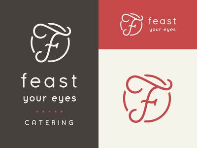 Feast Your Eyes Catering Rebrand