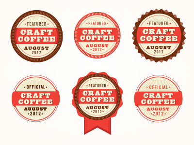 Badge Website website badges by kelsey collins dribbble