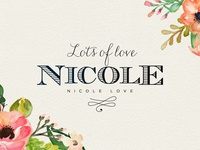 Lots of love for Nicole Love