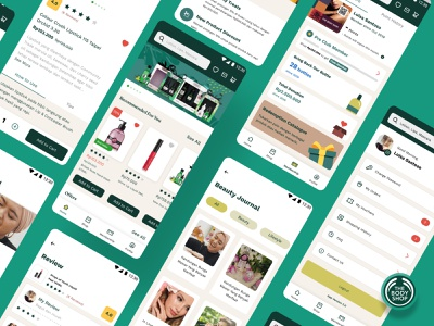 The Body Shop Indonesia shopping bodyshop thebodyshop ecommerce user experience android ios mobile app design user interface design ux ui product design