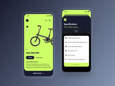 Roda - Bike Marketplace cycling ecommerce bike shopping marketplace roda branding user experience mobile app design user interface ios ux ui product design