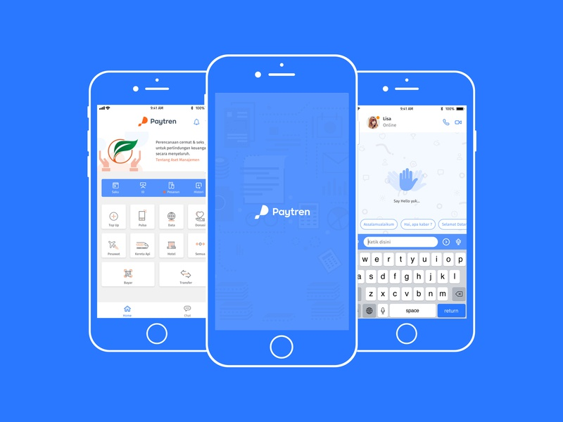 Hello Paytren financial app fintech user experience mobile app design android ios user interface design illustration ux ui product design