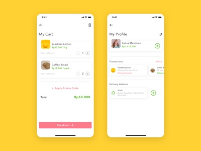 Red Radish - Groceries Shopping App