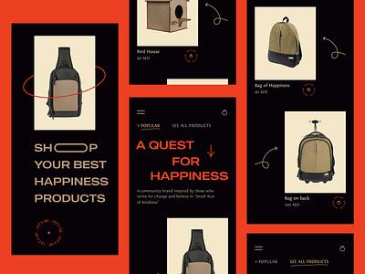Aroz Shop Store App Design mobileapp app visual eshop ecommerce ux ui trending trend brand store shop
