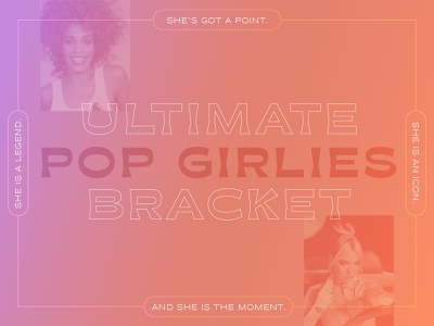 Ultimate Pop Girlies Bracket music wendy williams who weekly dua lipa whitney houston pop music bracket