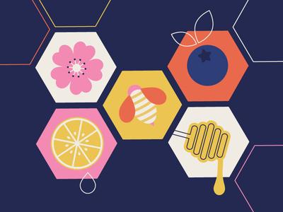 Lil Bee Honey Co. Pattern