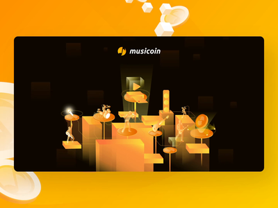 Musicoin Sign Up sketch after affects principle registration sign up streaming app music app crypto illustration motion dashboard app app design animation user interface interaction design user experience webapps musicoin