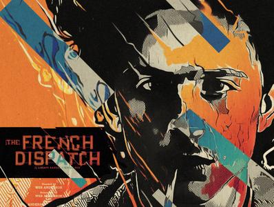 Zeffirelli portrait texture poster french dispatch wes anderson