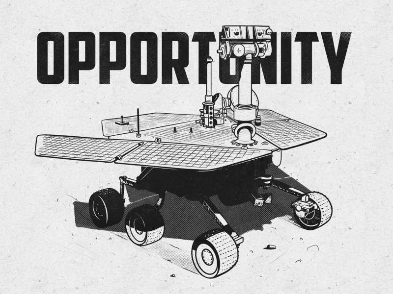 Oppy charachter poem machine wheels hero travel stars nasa mars robot opportunity