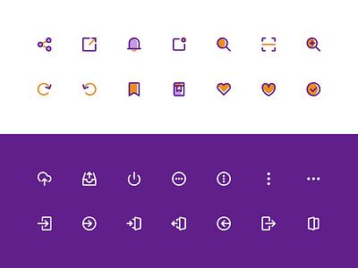 Iconhub.io - Free customized icons assets website ux ui kit ui icon pack iconography icons free icon freebie icon icon set