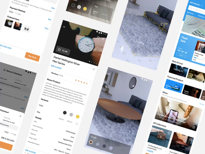 AR e-commmerce ecommence product design animation design app ux ui augmented reality ar