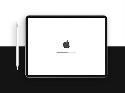 Free New iPad Pro + Apple Pencil Mockup pencil apple pro ipad freebie xd freebie mock up mockup