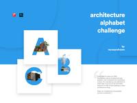 Architecture Alphabet Challenge