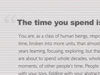 Type Set Match: 10 Timeframes