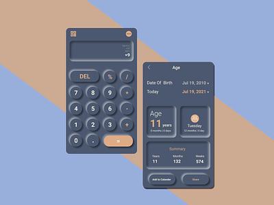 Calculator #DailyUI 004 figma design app daily ui calculator ui ui calculator