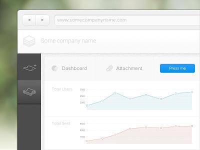 A random web app practice website dashboard navigation webapp button sample