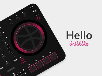 Hello Dribbble controller midi dj dribble hello