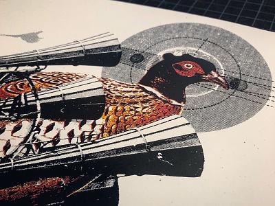 Pretty Lights Print gigposter silkscreen design sketch illustration