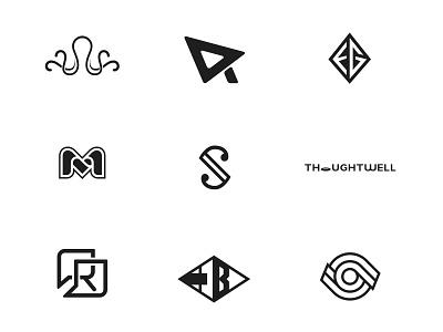 Marks Part 04 icon vector design brand branding mark logo design logo