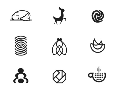 Marks Part 07 identity symbol vector icon brand design brand mark logos