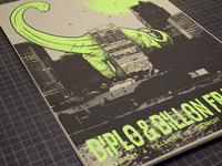 Diplo & Dillon Francis Gig Print