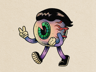 Peace eyeball