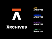 ARCHIVES Logo Exploration archives corporate identity corporate design identity design brand identity brand design logotype logomark logo design logodesign logo branding design