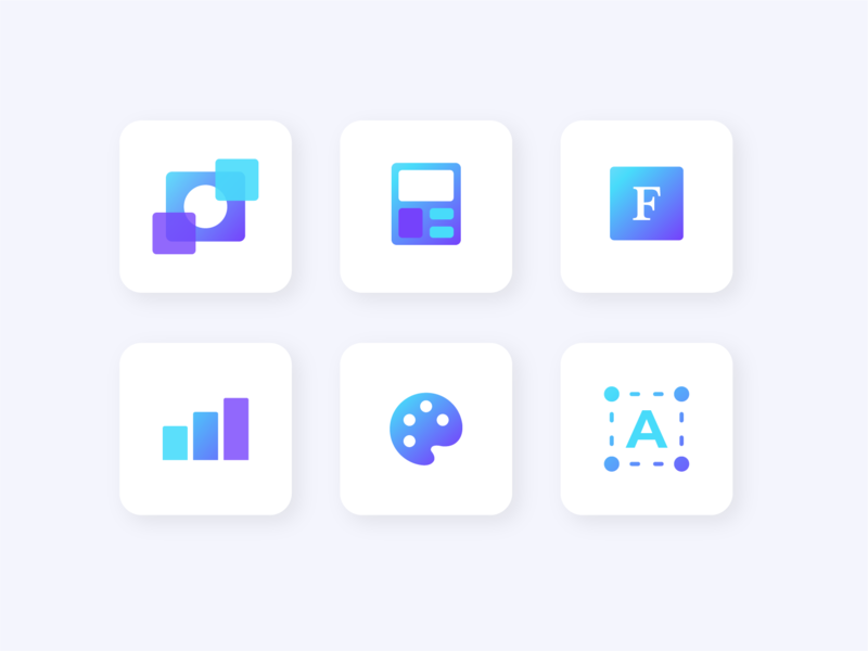 Design Tips Icons newsletter tips app graphic vector gradient product ui icon canva icons illustration design