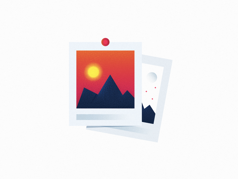 Images photo blog sunset sunrise mountain images canva flat graphic art gradient vector product ui icons design illustration