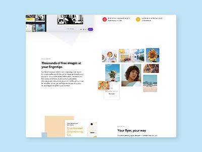 Flyer Maker Content Graphics graphic ui canva design