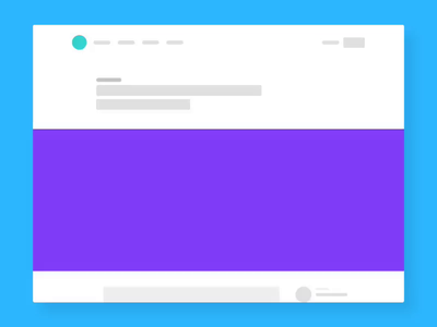 Article Progress Indicator article blog app graphic vector ux design branding ui canva